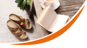 Ortho Lady and Gent Sandals – Ortho Active